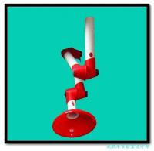 universal lab fume extractor