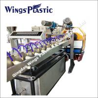 China Cheap PVC Wire Reinforced Hose Extruder Machinery, PVC Steel Pipe Making Machine on sale