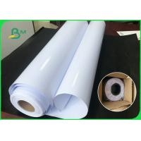 FSC Certified 180GSM 200GSM Waterproof Inkjet Glossy Art Paper / Roll Photo Paper 24'' x 30m