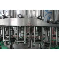 Metal Screw Cap Bottle Filling And Capping Machine / Hot Juice Glass Bottle Filler Manufactures