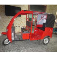 Quality Windshield Glass Electric Passenger Tricycle Rickshaw Taxi 40-50km/H for sale