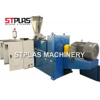 HDPE PVC UPVC / Plastic Pipe Manufacturing Machine Stainless Steel Single Screw Manufactures