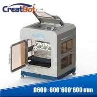 0.05mm Max Resolution CreatBot 3D Printer Dual Extruders Full Enclosed Metal Chamber Manufactures