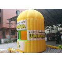 Lightweight Inflatable Lemonade Stand One Door And One Window Long Life Span Manufactures