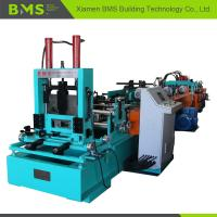 Auto C Purlin Forming Machine For Galvanized Sheet / Cold Hot Roll Steel Material Manufactures