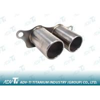 Welded Gr1 Exhaust Pipe Welding Titanium Pipe ASTM B338 Automobile System Manufactures