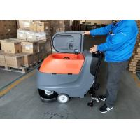 Hand Push Automatic Walk Behind Floor Scrubber Not Cleaning Robot Manufactures