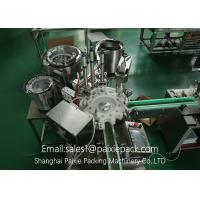 High Speed E Juice / E - Cigarette Filling Capping Machine Electric Driven Manufactures
