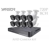 HD 720P / 1080N AHD Camera Kit 8 CH 1MP Video Surveillance Kit With Day / Night Vision Manufactures