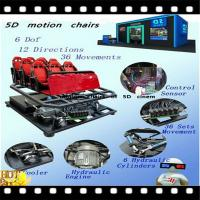 Buy cheap Professional 5D cinema equipment with fashion chiars from wholesalers