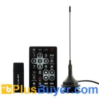 China ISDB-T Full Seg HDTV USB Dongle for Computers - Remote Control & Powerful Antenna on sale