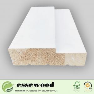 Wholesale Custom Wood Door F/J Primed Wood Door Jamb Frame Moulding Manufactures