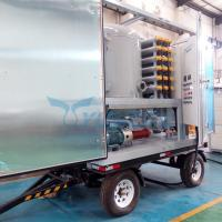 Trolley Type Mobile Double Stage Vacuum Transformer Oil Dehydration Plant Manufactures