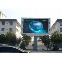 Commercial Fixed Installation Outdoor Video Screen Rental With MBI5024 Driving IC Manufactures