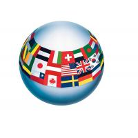 PVC Custom Inflatable Full Printed Bouncy Beach Toy Balls For Kids Manufactures