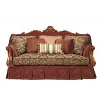 Middle East Red Luxury Wooden Sofa Designs Dubai Hotel Furniture Manufactures