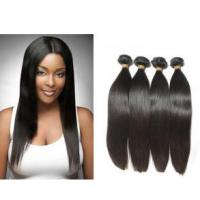 Beauty Jet Black Indian 8A Virgin Hair With Natural Clean Hair Line Manufactures