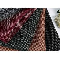 China 100% Polyester Airflow 3d Mesh Fabric / Washable Knitted Spacer Mesh Fabric on sale