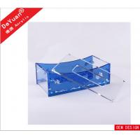 Quality Square Bending Acrylic Holder Stand For Office / Car / Toilet for sale