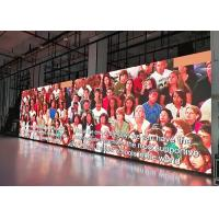 Thin Full Color Advertisement Indoor Led Video Walls Environment Friendly Manufactures