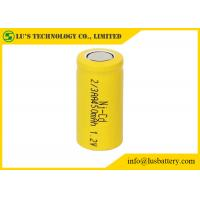 China NICD 2/3 AA Nickel Cadmium Rechargeable Batteries Wide Temperature Range on sale
