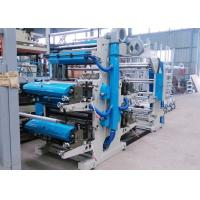 Metal Anilox Central Drum Flexo Printing Machine , Plastic Bag Printing Machine Manufactures