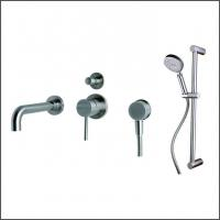 SENTO stainless steel rain shower set wall mounted for bathroom Manufactures