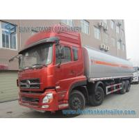 China Carbon Steel 270hp 40m3 Chemical Tanker Truck Diesel / Water / Oil Tank Trailer Truck 8x4 on sale