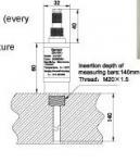 Horizontal direction Rotational Speed Sensor , electronic measuring devices