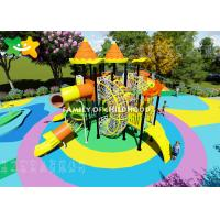 Kindergarten Plastic Kids Outdoor Playground Equipment Eco Friendly Non Toxic Material Manufactures