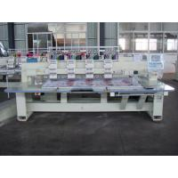 Commercial Computerized Embroidery Machine For Caps / Headbands Manufactures