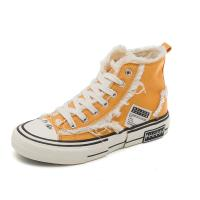 Cotton Upper Fabric Canvas Sports Shoes , Canvas Sneakers High Top Manufactures