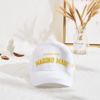Embroidery Curved Brim Baseball Cap Adujustable Six Panels Manufactures