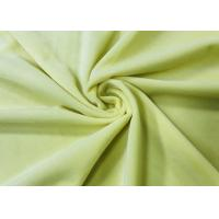 China 210GSM 100% Polyester Microfiber Velvet Fabric for Accessories- Cream on sale