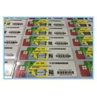 Quality COA License Sticker Windows 10 Pro Product Key For OEM Software Customized for sale