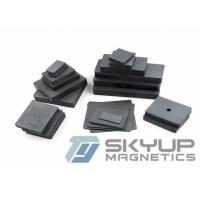 Ferrite Magnets Sintered Magnet For Speaker Parts Anisotropic Louderspeaks / Sensors Manufactures