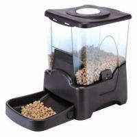 China Large-capacity Automatic Pet Feeder, Easy Cleaning on sale