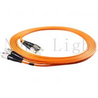 FC - FC Optical Fiber Patch Cord Multi Mode PVC / LSZH 0.9 / 2.0 / 3.0 Mm