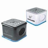 SD/MMC and USB Card Reader Speakers with FM Radio Manufactures