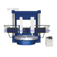 20t Rtional Structure Double Column Vertical Lathe Machine , Cylindrical Surface Manufactures