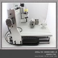 NEW 3040 cnc router 200W spindl 80MM Zaxis engraving machine Manufactures