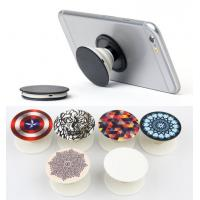 2017 Trendy 3M Adhernsive Silicone Mobile Phone Holder Stand Pop Grip Socket With Car Holder , Many Pattern Design Stock Manufactures