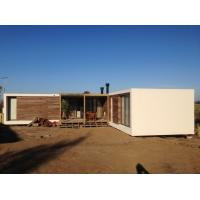 China Steel Structure Modern prefabricated Houses , Uruguay Bungalow Home Plans wholesale