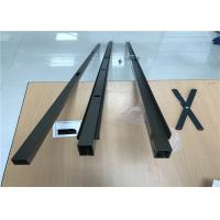 Powder Coating Aluminum Profiles For Security Door Sliding Open Style Manufactures