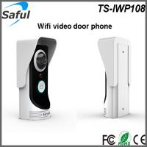 China Android/IOS APP support motion detection and door unlocking IR intercom doorbell Wifi video door phone on sale