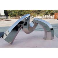 Custom Outdoor Abstract Stainless Steel Sculpture And Metal Garden Sculpture Manufactures