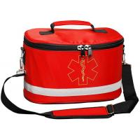 Portable Waterproof First Aid Nylon Red Sports First Aid Kit Bags Manufactures