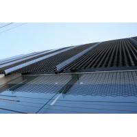 Aluminum Expanded Metal Screen Mesh Curtain Wall Galvanized Building Design Material for sale
