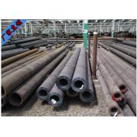 SCH40 Seamless Carbon Black Steel Tube , Round Steel Tubing Customized Service Manufactures