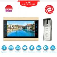 Wired video camera doorbell metal video interphone intercom for villa/home/office/apartment Manufactures